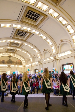 St Patrick's Day Siamsa